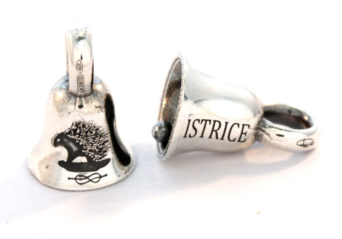 Bead in argento 925 Campanina dell'Istrice
