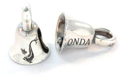 Bead argento925 Campanina Onda